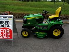 Second Hand John Deere X758 Tractor  ref:3264 Tractor