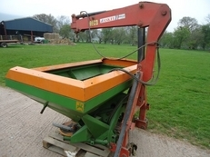 AMAZONE ZA-U 1501 FERTILISER SPREADER
