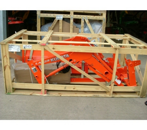 Compact Tractor Front Loader, Kubota La332- EC Tractor Loader, Kubota Front loader LA332ec Kubota B series tractor , (DOES NOT INCLUDE TRACTOR)