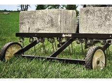 "45-0294 Agri-Fab 40"" Spring Tine Towed Dethatcher"