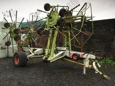 Used rake / tedder:  CLAAS LINER 3000