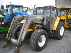2001 Renault Ceres 345x with mx loader