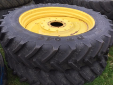 380/90 R46 Row Crop wheels and tyres.