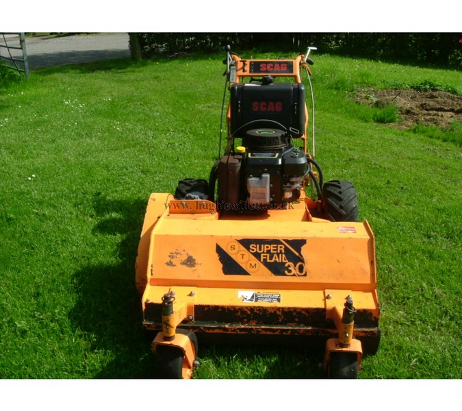 Used Scag 36 inch Flail Mower ,Pedestrian Heavy Duty Commercial SCAG