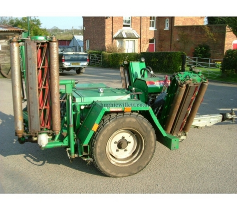 Ransomes TG3400 Trailed Gang Mowers Floating Heads