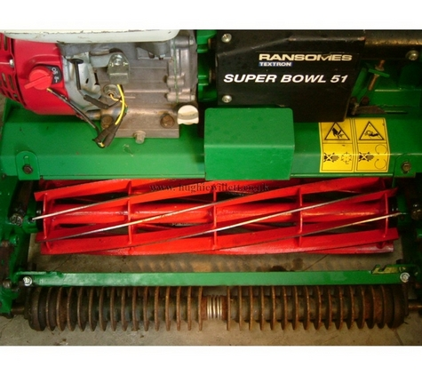 Used Ransomes Super Bowl 51 Fine Turf Mower For Sale ,Ransomes 20 inch Bowling Green Mower