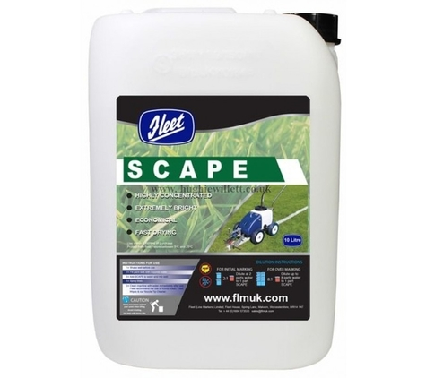 Fleet Pitchmarker Scape Grass Paint 10 litres