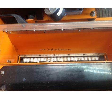 Sisis Rotorake 602s Powered Scarifier, Complete with Seeder unit, Used Sisis 600HD Auto-Rotorake.