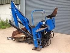 Lewis Backhoe 420s Digger, Tractor Mounted Backhoe Digger