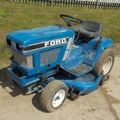 Ford Diesel Ride on Mower