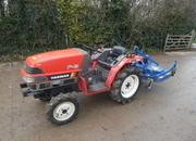 yanmar f6 diesel 4wd tractor with fleming topper