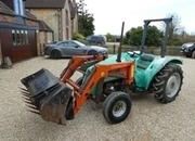 sutcliff  loader tractor power steering bucket and for