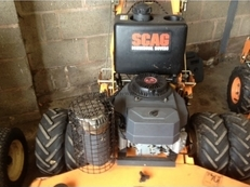 USED Scag 48 inch Rotary Mower Pedestrian Heavy Duty Commercial Mower