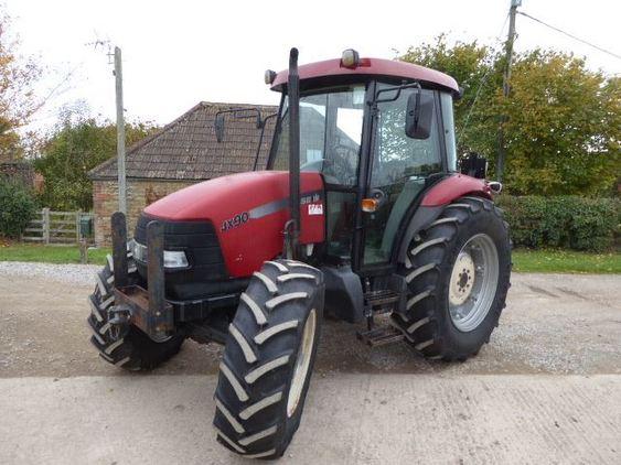 Case Jx90 4wd Tractor ... Swindon