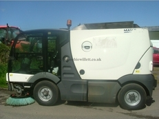 Used Scarab Azura MC 200 Road Sweeper / Footpath Sweeper