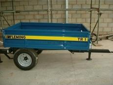 Fleming TR1 1.5T Hydraulic Tipping Trailer