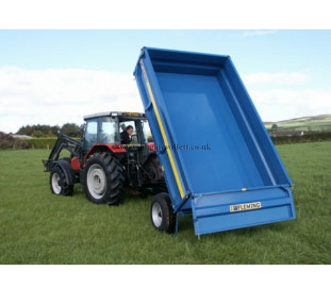 Fleming TR4 4 Tonne Tipping Trailer