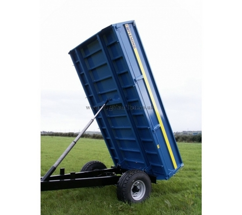 Fleming TR4 4 Tonne Tipping Trailer, Fleming 4 Tonne Hydraulic Tipping Trailer