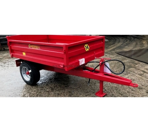 Marshall S/1 1.25t Drop-Side Agricultural Trailer