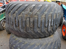 Pair of Compact tractor wheels