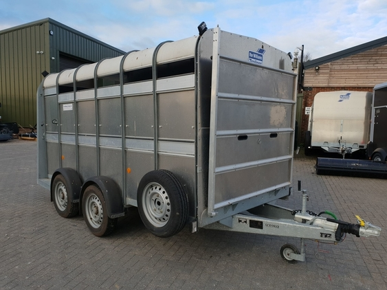 Ifor Williams TA510 12? with 6? headroom livestock trailer – £3450.00 + VAT