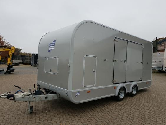 Ifor Williams Transporta car trailer – EX-DEMO – £10,850.00 + VAT