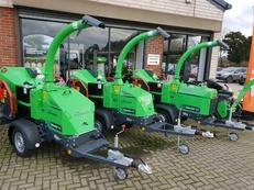 GreenMech chipper range now in stock!!