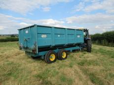 Armstrong Holmes grain trailer