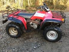 HONDA TRX300 4X4 BIG RED WINTER READY ALL WORKING QUAD BIKE